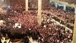 """בצל הטלטלה: אלפי החסידים צעקו לאדמו""""ר מגור: """"חורף בריא"""" • צפו"""