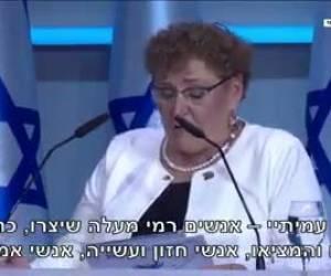 הנאום יהפוך לשיעורים: השר נפתלי בנט: נאומה של מרים פרץ יילמד