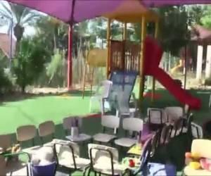 צפו בגננת: נס: בלון התבערה נחת בחצר הגן ליד הילדים