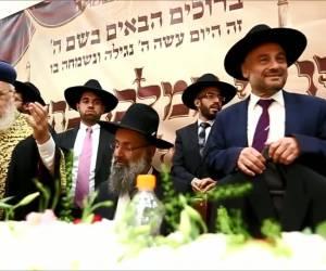 חגיגה בבית שמש: הרב דוד כהן הוכתר לרב 'ממזרח שמש' • צפו