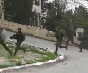 תל תקוע: המחבלים תועדו על חם; הלוחמים עצרו. צפו