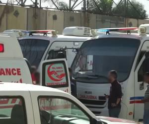 באישור ישראל: 22 פצועים מעזה הועברו לטיפול בירדן • צפו