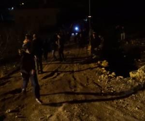 בליווי כוחות הביטחון: נרות חנוכה הודלקו בחירבת צור בחלחול. צפו