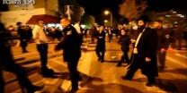 מחאת הגיוס עימותים ומעצרים צפו בהפגנה הסוערת בבית שמש