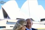 צפו בווידאו הכותרות רודפות אחרי נתניהו גם לאוסטרליה הנרגשת מביקורו