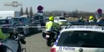 דהר לעבר ההמון מחבל ניסה לבצע פיגוע דריסה באנטוורפן שבבלגיה