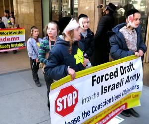 """תיעוד קשה: מחו נגד """"שלטון הרשע"""": גרסת הקיצונים לתמונה המחרידה מהשואה (2)"""