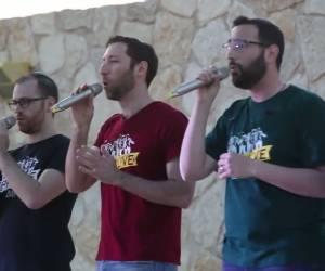 """להקת 'כיפה לייב' בביצוע חי - """"מזמור שיר"""""""