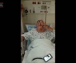 """צפו בתיעוד: פצוע פיגוע הדריסה: """"המחבל חייך ופגע בי"""""""