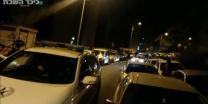 מהומות ליליות תשעה מפגינים חרדים נעצרו בהפגנה נגד מעצר עריקים