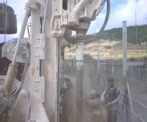"""'מגן צפוני': וידאו: כך חשף צה""""ל מנהרה רביעית בצפון"""