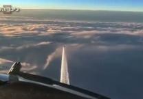 מחשש לפיגוע מטוסי קרב גרמניים שוגרו ליירט מטוס. צפו