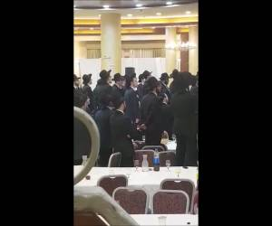 מאות אברכי 'בית הלל' חגגו עם ראש הכולל