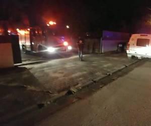 מושב בצרה: עובד זר נהרג בשריפה שפרצה במבנה בשרון