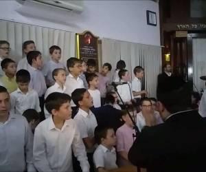 """""""ובשם ה' אקרא"""": שירת הילדים בשמחת בית השואבה • צפו"""