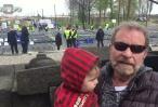 דודו פישר לבוא למצעד החיים עם בני זו דרך לומר ניצחנו