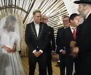 כדת משה וישראל: 'סטטיק' התחתן: הרב הראשי סידר קידושין • צפו