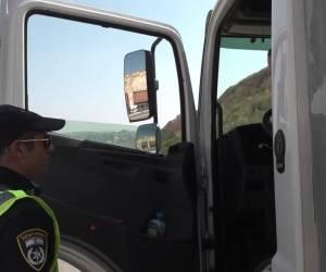 בסיוע רחפן: צפו: 77 דוחות במבצע משטרתי בכביש 446