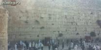 תיעוד וידאו צפירת יום השואה בכותל המערבי • צפו