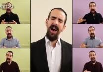 נמואל הרוש בקליפ ווקאלי מרהיב - אלוקיי