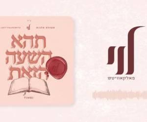 """לוי פאלקוביץ בסינגל חדש: """"תהא השעה הזאת"""""""
