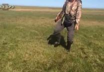 צפו בתיעוד אלפי בועות גז מסוכנות התגלו בצפון רוסיה