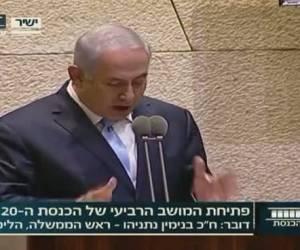 """פתח את המליאה: נתניהו במיטבו: """"נאום החמוצים"""" של ראש הממשלה. צפו"""