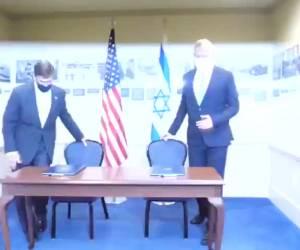 היום בוושינגטון: נחתם הסכם לשימור עליונות ישראל באזור