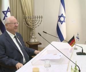 """""""מנהיגה שדאגה לעמים"""": לקראת תום תפקידו: הנשיא ריבלין נפרד מקנצלרית גרמניה"""