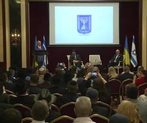 """צפו בווידאו: נתניהו באוקראינה: הקב""""ה נתן לנו הזדמנות"""