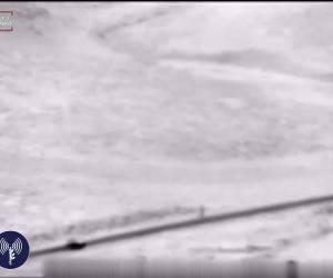 רכב ובו נשק נלכד בהר חברון • צפו בתיעוד