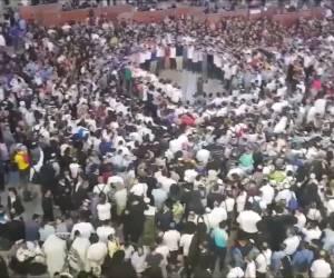 צאת הצום: תיעוד מרגש: אלפים בכותל שרים בדבקות
