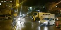 מחאת גיוס הבנות המכתזית המשטרתית מפזרת את הפורעים בירושלים. צפו