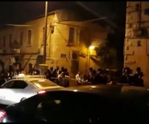 צפו בתיעוד: הפגנות בירושלים: 5 שוטרים נפצעו, קטין נעצר