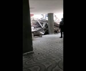 תאונת עבודה: פיגומים קרסו באתר בניה בחיפה: פועל נהרג