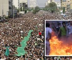 הפגנות הענק באיראן