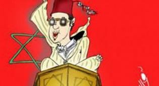 הקריקטורה בעיתון המרוקאי - אנטישמיות נוסח מרוקו: קשר ליהודים