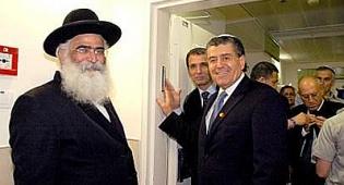 סבן יחד עם הרב אברג'ל - בקרוב: תכנים יהודיים באל גז'ירה?
