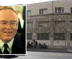 השופט על רקע בית הדין הרבני. צילום: פלאש 90