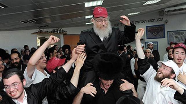 המתנדב ליצמן, במהלך האירוע