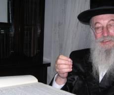 הרב פרנקל (צילום: עולם החסידות)