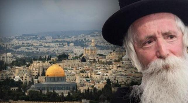 הרב גרוסמן. בקרוב בירושלים? (צילום: פלאש 90)