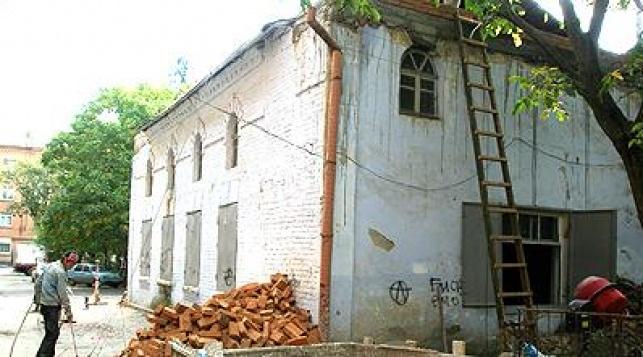 בית הכנסת לפני השיפוץ