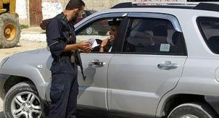 ישראלי שניווט לשטח פלסטיני. צילום: פלאש 90