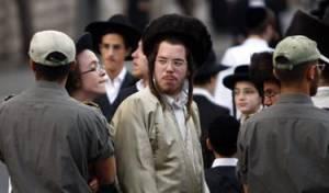 מפגינים בירושלים, היום (צילום: פלאש 90)