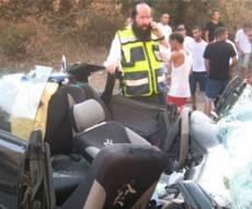 זירת התאונה. צילום: דוברות איחוד הצלה