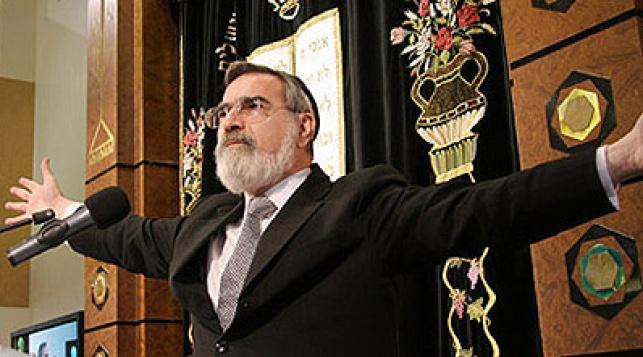 הרב סאקס. צילום: שטורעם