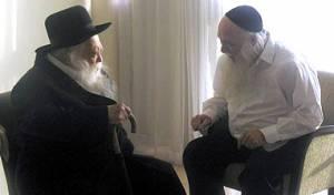 """הגר""""ח קנייבסקי עם הרב כנהמן"""