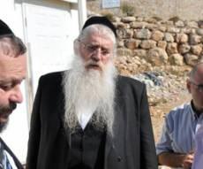 פרוש וראש-העיר (צילום: כיכר השבת)