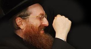 """האדמו""""ר מקרלין-סטולין (צילום: ישראל ברדוגו)"""